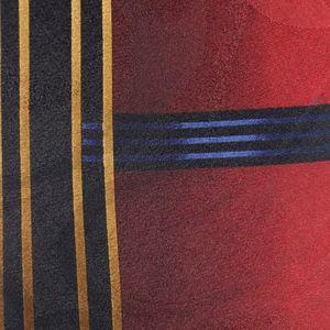 Campanello Mens Necktie Red Blue Multi-Color Tie
